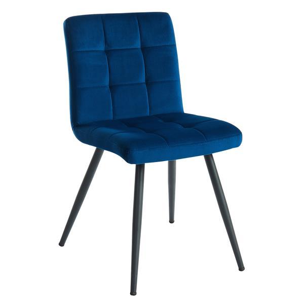 !nspire Upholstered Dining Chair - 32-in - Blue Velvet - Set of 2