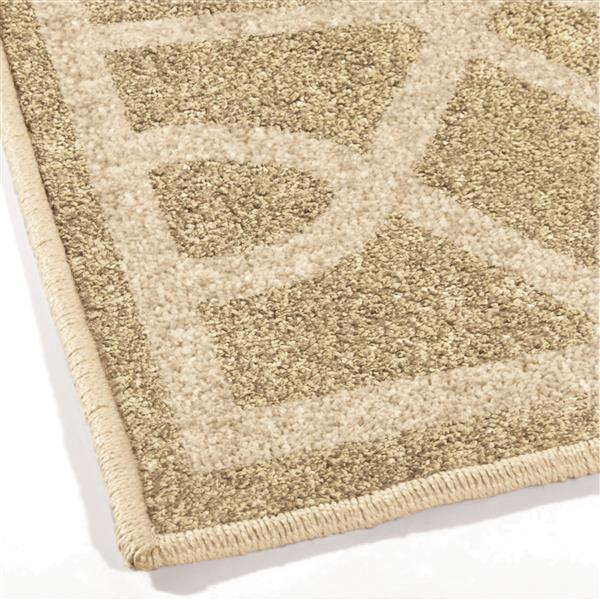 Orian Rugs Sand Dunes Rug - 94-in x 130-in - Polypropylene - Beige