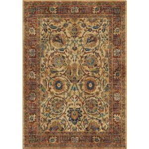 "Tapis « Oriental Roots », 130"", polypropylène, bleu/orange"