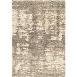 "Tapis « After Storm », 63"" x 90"", polypropylène, beige/gris"