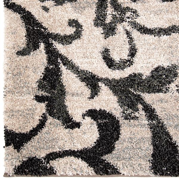 Orian Rugs Distressed Floral Rug - 130-in - Polypropylene - Blue/Beige