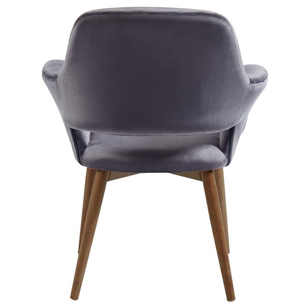 WHI Accent & Dining Chair  - Grey Velvet