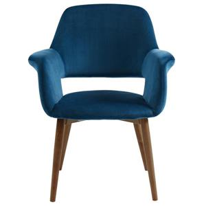 WHI Accent & Dining Chair  - Blue Velvet