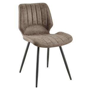 !nspire Faux Suede Side Chair - Brown - Set of 2