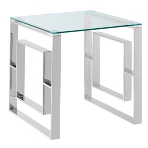 !nspire Stainless Stell Accent Table - Chrome