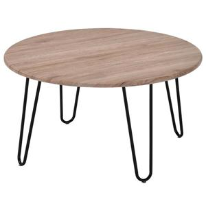 WHI Coffee Table -  Faux wood/Metal - 31.5""