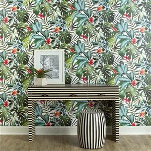 Tempaper Rainforest Wallpaper - Green - 60 sq. ft.