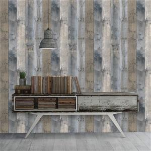 Tempaper Repurposed Wood Wallpaper - Multiple colors - 56 sq. ft.