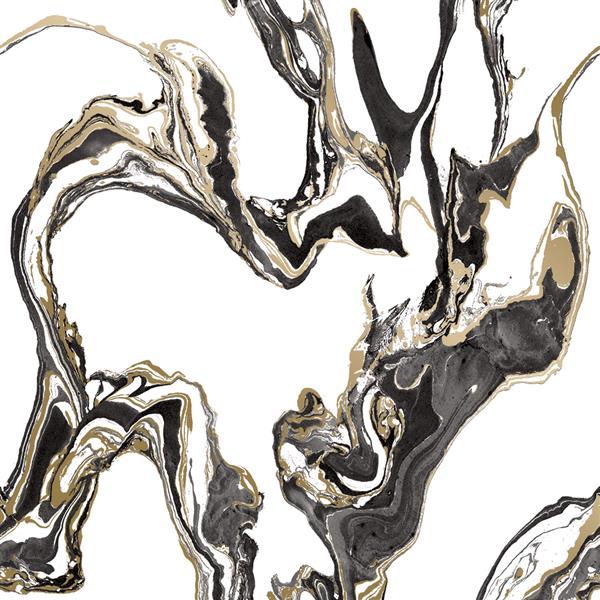 "Papier peint ""Marble"", onyx, 56 pi ca"