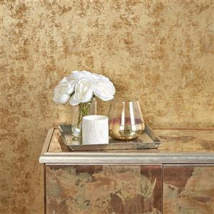 "Papier peint ""Distressed Gold Leaf"", or, 28 pi ca"