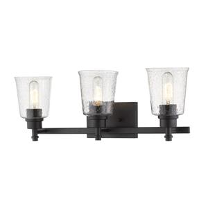 Z-Lite Bohin Contemporary 3-Light Vanity Light - Black