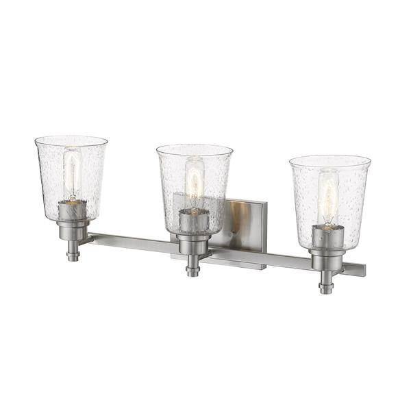 Z-Lite Bohin Contemporary 3-Light Vanity Light - Nickel