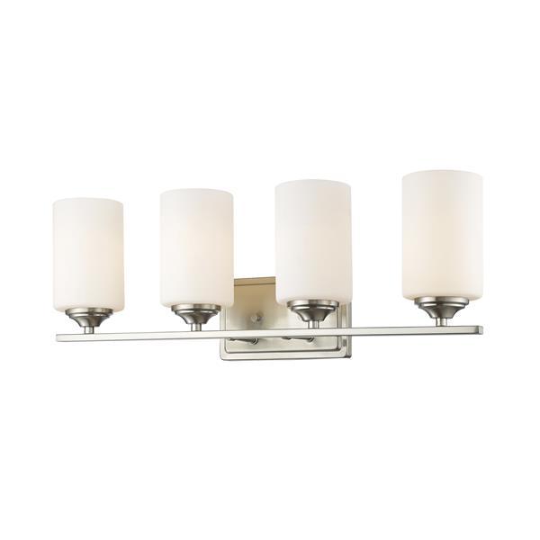 Z-Lite Bordeaux 4-Light Vanity Light - Brushed Nickel
