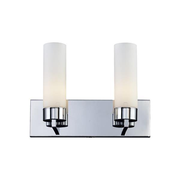 Z-Lite Ibis Modern 2-Light Vanity Light - Chrome