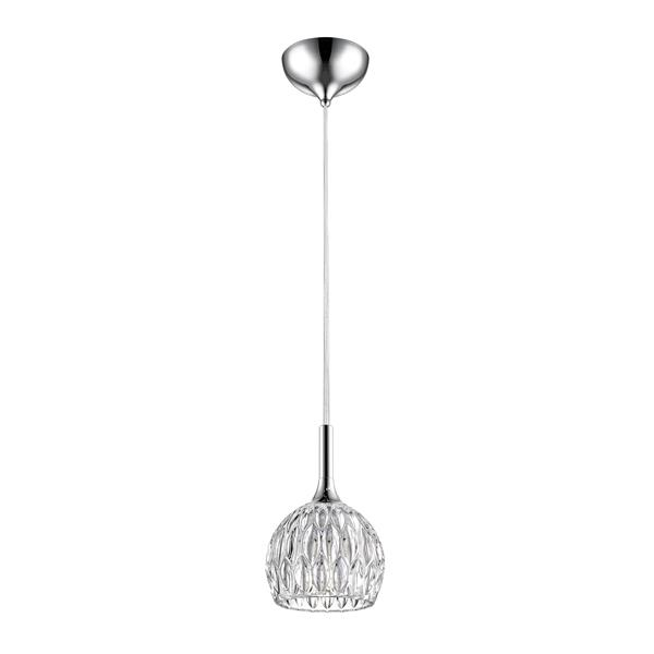 Z-Lite Laurentian 1-Light Mini Pendant Light - Chrome