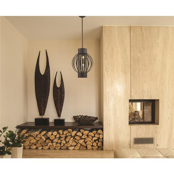 Z-Lite Moundou 4-Light Pendant Light - Bronze