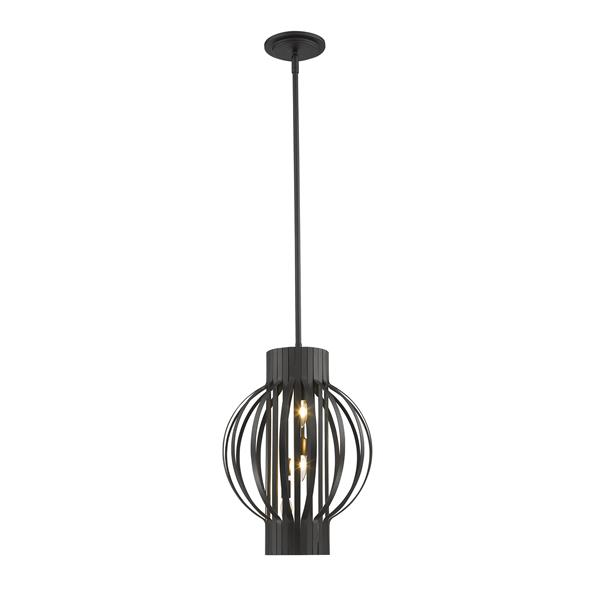 Z-Lite Moundou 3-Light Pendant Light - Bronze