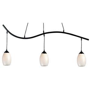 Luminaire nautique à 3 lumières «Jazz», noir