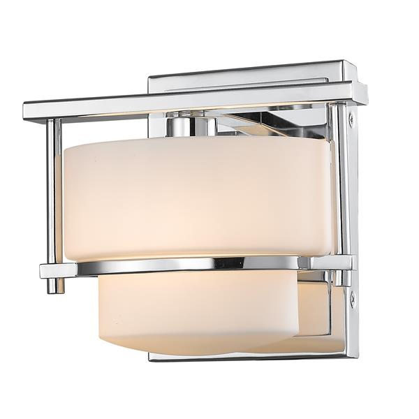 Z-Lite Porter 1-Light Wall Sconce - Chrome