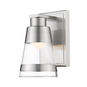 Z-Lite Ethos 1-Light Wall Sconce - Brushed Nickel