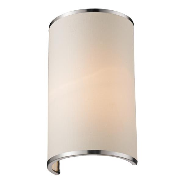 Z-Lite Cameo 1-Light Wall Sconce - Brushed Nickel