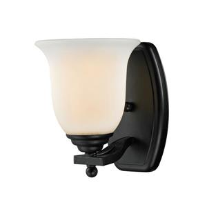 Z-Lite Lagoon 1-Light Vanity Light - 6-in - Metal - Bronze