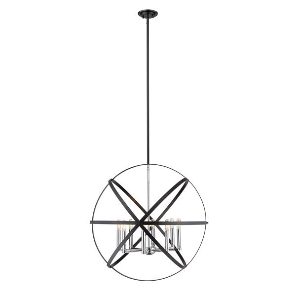Z-Lite Cavallo 8-Light Pendant - 30-in - Metal - Multicolour