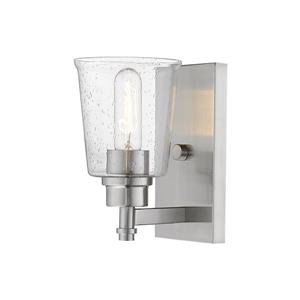 Z-Lite Bohin 1-Light Wall Sconce - 8.5-in - Steel - Nickel