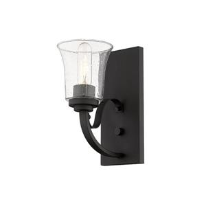 Z-Lite Halliwell 1-Light Wall Sconce - 11-in - Steel - Bronze