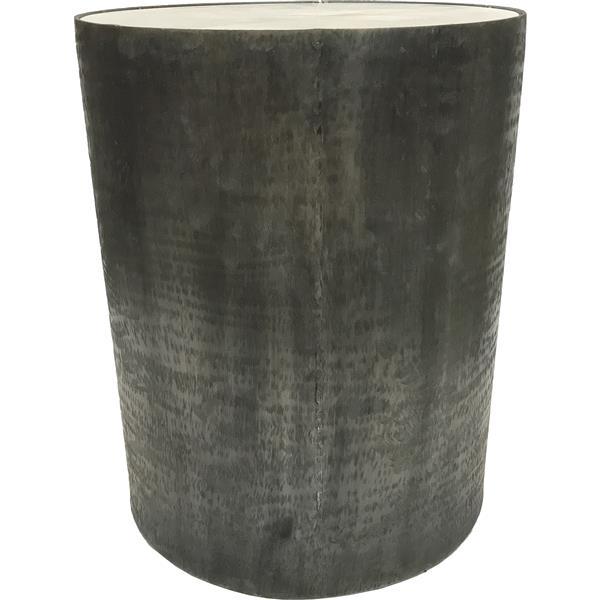 """Table d'accent extérieure Balford, 14"""" x 18"""", gris/blanc"""