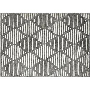Notre Dame Design Gardenia Outdoor Rug - 78.75-in- Polyester - Gray/White