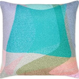 Notre Dame Design Simona Outdoor Pillow - 22-in- Polyester - Multicolour