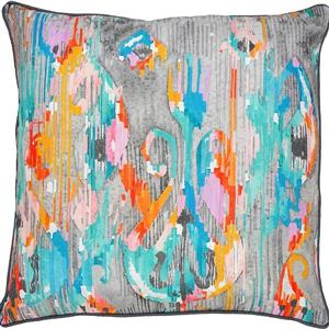 Notre Dame Design Telcon Outdoor Pillow - 22-in- Polyester - Multicolour