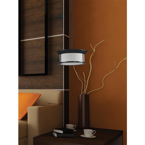 Z-Lite Sonna Light Pendant - 3-Light - Bronze - 15.5-in x  53.5-in