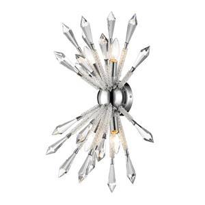 Applique muraale Soleia, 4 lumière, chrome