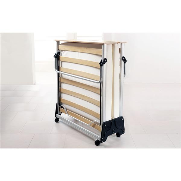 Jay-be J-Bed Folding Bed with Memory Foam Mattress, Single