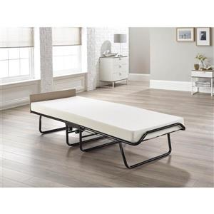 Jay-be Supreme Folding Bed with Memory Foam Mattress, Single