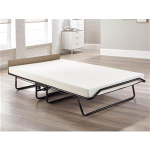 Jay-be Supreme Folding Bed with Memory Foam Mattress, Double