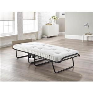 Jay-be Supreme Folding Bed with Sprung Mattress, Single