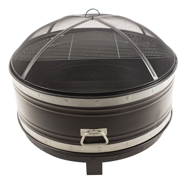 Pleasant Hearth Colossal Fire Pit - Cooking Grid - 36-in