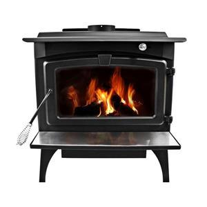 Poêle à bois avec ventilateur LWS-127201, 1800 pi.carré