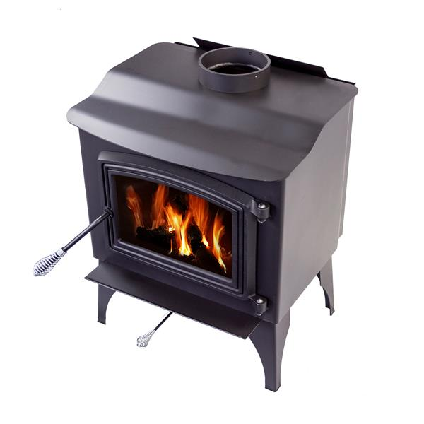 Pleasant Hearth 1,200 Sq. Ft. Small Wood Burning Stove