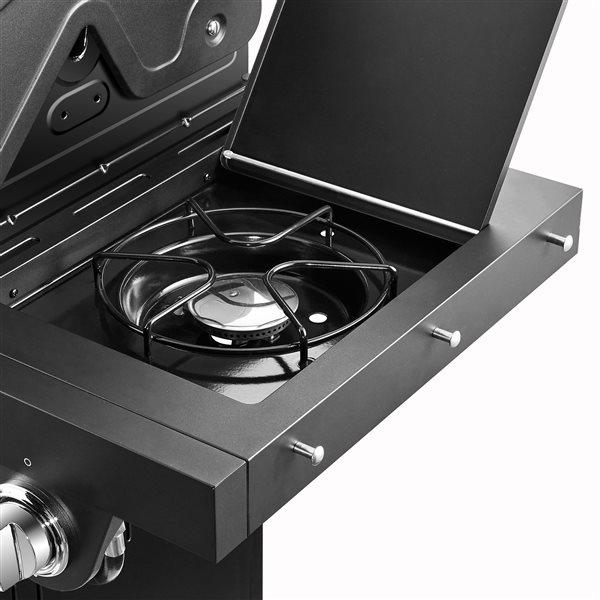 Barbecue au gaz naturel,  5 brûleurs/1 latéral, 60 000 BTU