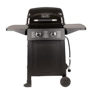 Barbecue au propane, 2 brûleurs/chariot ouvert, 20 000 BTU