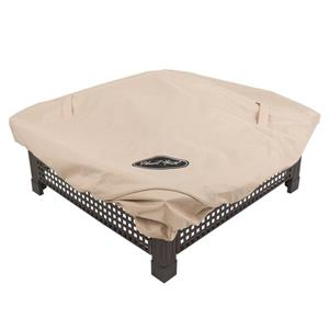 Pleasant Hearth Medium Square Fire Pit Cover