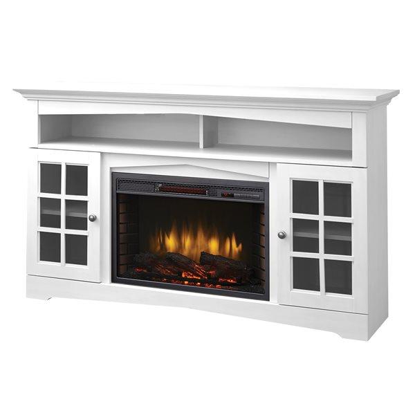 Muskoka Huntley Media Electric Fireplace White 59 370 196 204