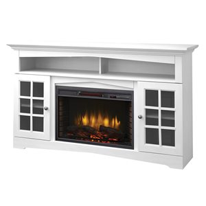 Muskoka Huntley Media Electric Fireplace - White - 59""