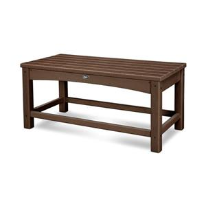 Trex Rockport Club Outdoor Coffee Table - Brown