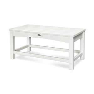 Trex Rockport Club Outdoor Coffee Table - White