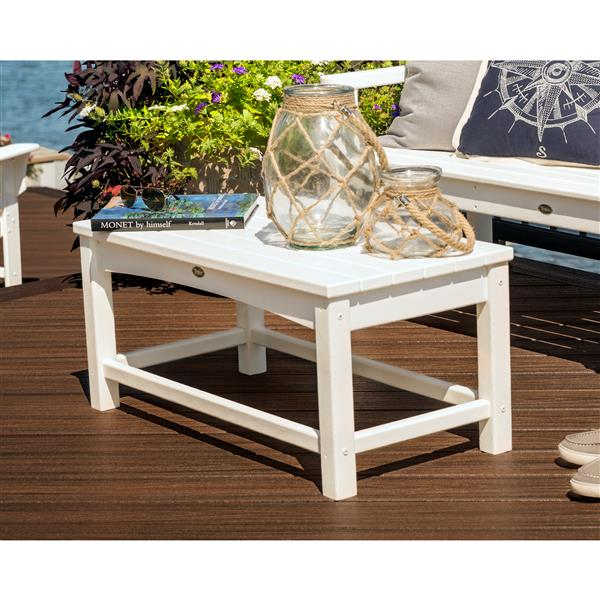 Trex Rockport Club Outdoor Coffee Table - Green